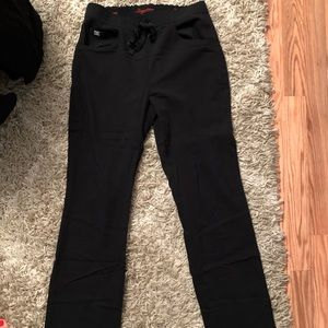 Grey's Anatomy black scrub pants XS/T